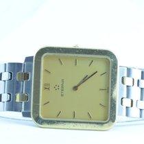 Eterna Herren Uhr Quartz Stahl/stahl 32mm Klassische Damen  Uhr