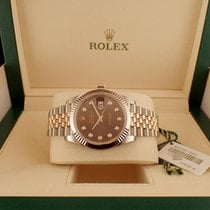Rolex Datejust 41mm Steel and Everose Gold  Jubilee