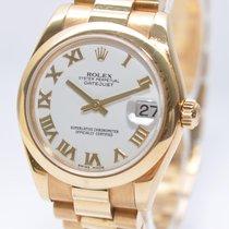 Rolex Datejust 178248 Gold Papiere Box von 2010
