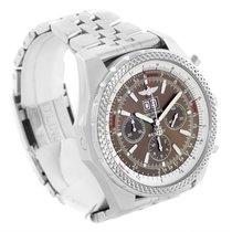 Breitling Bentley Motors Bronze Dial Steel Mens Watch A44362...