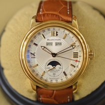 Blancpain Léman Annual Calendar Moonphase in 18k Yellow Gold