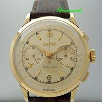 Vintage Eberhard & Co Chronograph 18k Gold