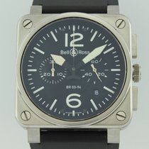 Bell & Ross Aviation Automatic Steel BR03-94