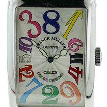 Franck Muller Long Island crazy hours color dreams  Steel Watch