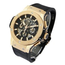 Hublot 311.PX.1180.GR Aero Bang - Rose Gold Skeleton Chronogra...