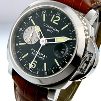 Panerai Unworn  Pam 88 Luminor Gmt 44 Mm Steel Pam 00088