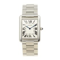 Cartier Tank Stainless Steel Silvery White Quartz W5200014