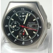 Lemania Military, Chronograph, BUND