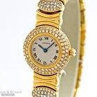 Cartier Colisee 18k Yellow Gold Full Diamond Setting Bj...
