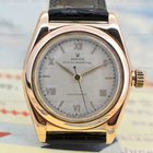 Rolex Oyster Perpetual Bubble Back 14K Rose Gold