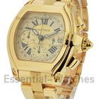 Cartier Roadster Chrono in Yellow Gold