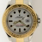 Rolex Yacht-master Two Tone Steel & 18k Gold 16623 Z...