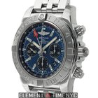 Breitling Chronomat 44mm GMT Stainless Steel Blue Dial Ref....