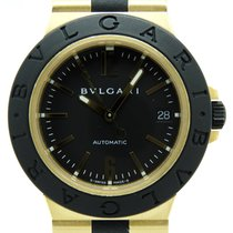 Bulgari Diagono AL38 Gold