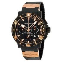 Ulysse Nardin Black Sea Chronograph 18K Rose Gold Automatic...