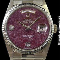 Rolex 18239 Day Date President Grossular Dial With Diamond...
