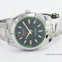 Rolex Milgauss Green Glass (unworn)
