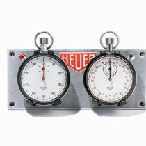 Heuer Stop Watches with Dashboard Switzerland, 1970s