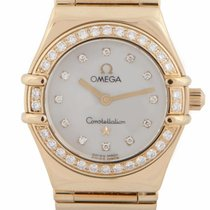 """Omega Constellation """"My Choice"""" 18ct Yellow Gold 1164.75.00"""