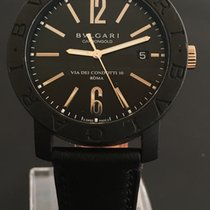 Bulgari Carbongold Automatic White Gold