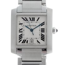 Cartier Tank Francaise Steel Large Model Automatic W51002Q3
