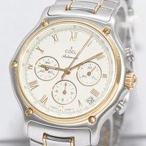 Ebel 1911 Chronograph Stahl Gold Uhr Ref. 1134901