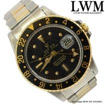 勞力士 (Rolex) GMT Master 1675 black nipple dial Tiger Eye 1970's
