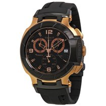Tissot T-Race Chronograph Black Dial Mens Watch T0484172705706