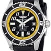 Breitling Superocean Black and Yellow Dial Mens Watch A...