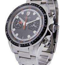 Tudor 70330N Heritage Chrono - Steel on Bracelet with Grey Dial