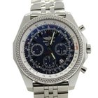 Breitling Bentley Motors T Speed Blue Chronograph SS 47mm...