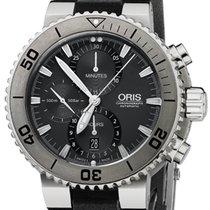 Oris Aquis Titan Chronograph Ref.  01 674 7655 7253-07 4 26 34TEB