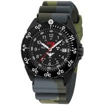 KHS Uhren Herrenuhr Enforcer Black Steel KHS.ENFBS.DC3