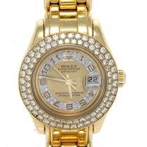 Rolex 18kt Yellow Gold Datejust Masterpiece