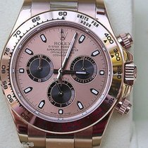 Rolex Daytona Mens Watch 116505 Everrose Rose Gold Perfect And...