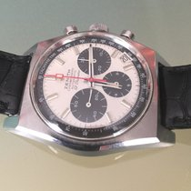 Zenith Chronograph vintage Panda  Dial stainless steel