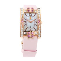 Harry Winston Avenue Classic Watch 310UQR 18kt Rose Gold