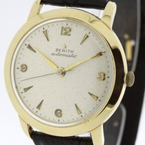 Zenith solid 18K Yellow Gold Watch Auto Bumper Automatic Cal....
