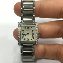 Cartier Tank Francaise Diamond Bezel after market