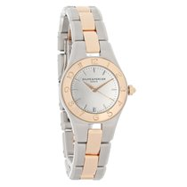 Baume & Mercier Linea Ladies 18K Rose Gold Swiss Quartz...