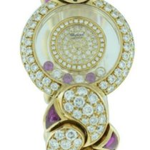 Chopard 20/5334 Happy Diamond Bangle in Yellow Gold with...