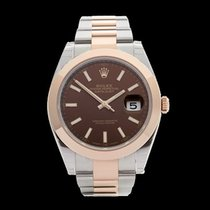 Rolex Datejust 41 Stainless Steel & 18k Rose Gold Gents...
