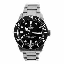 "Tudor Pelagos Black ""Two-Line"" Titanium Watch 25500TN..."