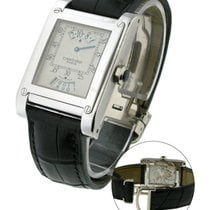 Cartier Priveejumo Tank a Vis Jumphour - White Gold - Privee...