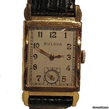Bulova Art Deco Vintage