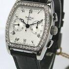 Paul Picot Firshire Medium Chrono Stahl/Leder Diamantbesatz