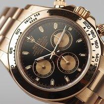 Rolex [NEW] Daytona Rose Gold 116505 Black Dial(Retail:HK$269,...