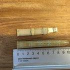 Jaeger-LeCoultre Krokodillederband beige 14 mm  NEU incl MWST