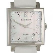 Louis Erard La Carre Date Stahl Automatik 35x35mm