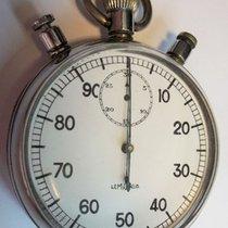 Lemania Nero Jumbo 65mm Schaltnocken Chronograph Rattrapante